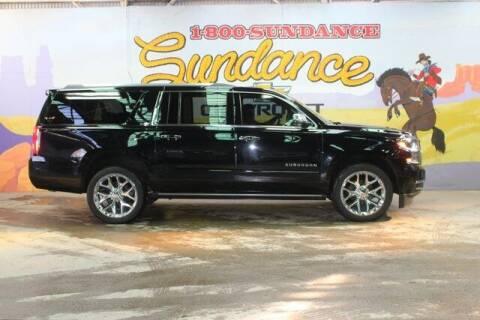 2018 Chevrolet Suburban for sale at Sundance Chevrolet in Grand Ledge MI