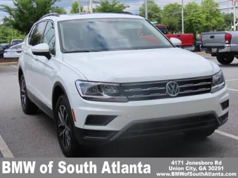 2020 Volkswagen Tiguan for sale at Carol Benner @ BMW of South Atlanta in Union City GA