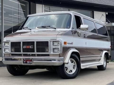 1988 GMC Vandura for sale at Carmel Motors in Indianapolis IN