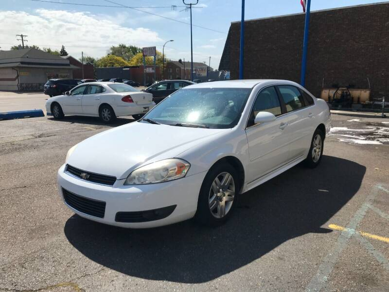 2011 Chevrolet Impala for sale at GREAT DEAL AUTO SALES in Center Line MI