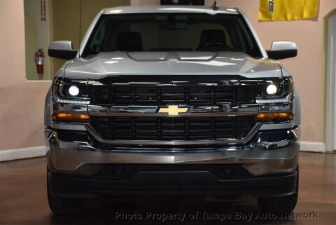2018 Chevrolet Silverado 1500 for sale at Tampa Bay AutoNetwork in Tampa FL