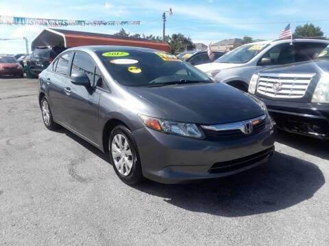 2012 Honda Civic for sale at GP Auto Connection Group in Haines City FL