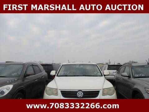 2008 Volkswagen Touareg 2 for sale at First Marshall Auto Auction in Harvey IL