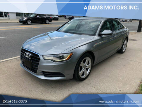 2012 Audi A6 for sale at Adams Motors INC. in Inwood NY