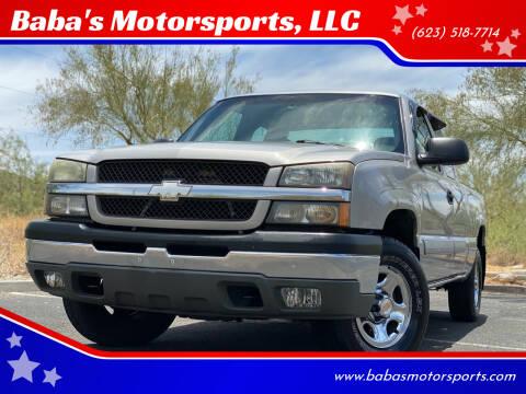 2004 Chevrolet Silverado 1500 for sale at Baba's Motorsports, LLC in Phoenix AZ