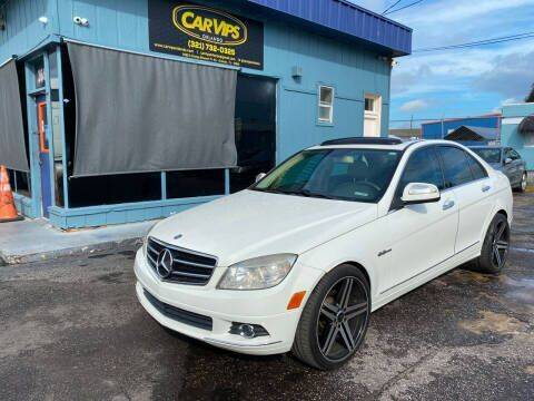 2009 Mercedes-Benz C-Class for sale at CAR VIPS ORLANDO LLC in Orlando FL