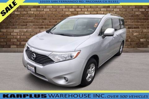 2016 Nissan Quest for sale at Karplus Warehouse in Pacoima CA