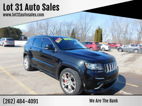 2013 Jeep Grand Cherokee for sale at Lot 31 Auto Sales in Kenosha WI