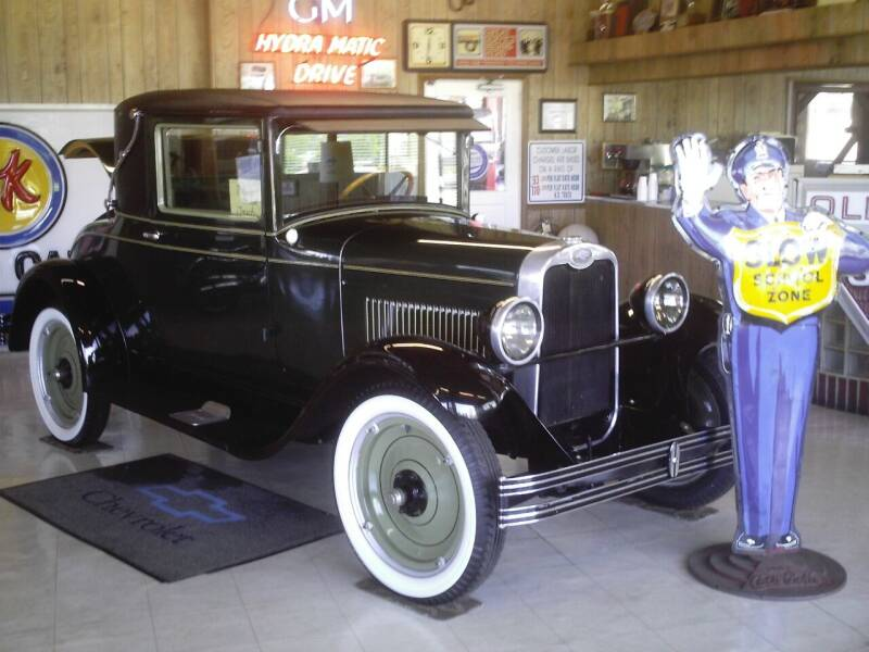 1928 Chevrolet COUPE for sale at STAPLEFORD'S SALES & SERVICE in Saint Georges DE