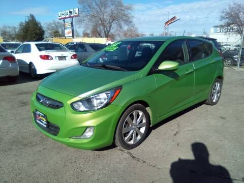 2012 Hyundai Accent for sale at Larry's Auto Sales Inc. in Fresno CA