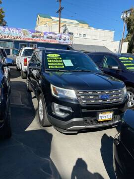 2017 Ford Explorer for sale at 2955 FIRESTONE BLVD - 3271 E. Firestone Blvd Lot in South Gate CA