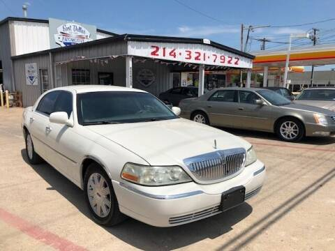 2005 Lincoln Town Car for sale at East Dallas Automotive in Dallas TX