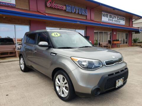 2014 Kia Soul for sale at Ohana Motors - Lifted Vehicles in Lihue HI