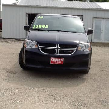 2016 Dodge Grand Caravan for sale at CHUCK'S AUTO SALES in Lowry City MO