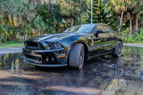 2013 Ford Shelby GT500 for sale at Exquisite Auto in Sarasota FL