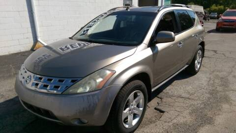 2003 Nissan Murano for sale at Scott Thomas Automotive in Clinton Township MI
