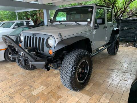2008 Jeep Wrangler for sale at America Auto Wholesale Inc in Miami FL