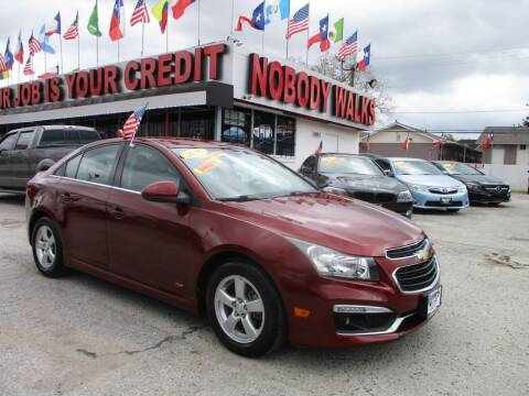 2016 Chevrolet Cruze Limited for sale at Giant Auto Mart 2 in Houston TX