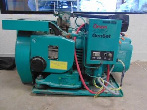 2011 ONAN 4K Generator for sale at SOUTHERN IDAHO RV AND MARINE in Jerome ID