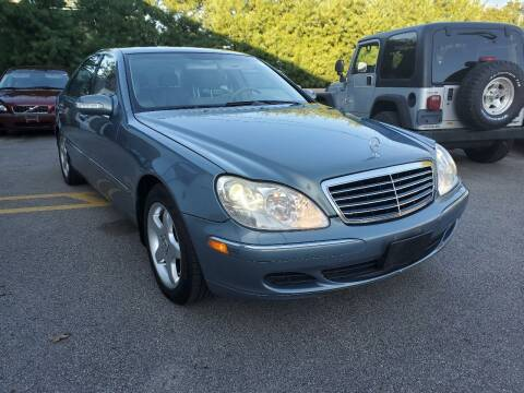 2004 Mercedes-Benz S-Class for sale at MX Motors LLC in Ashland MA