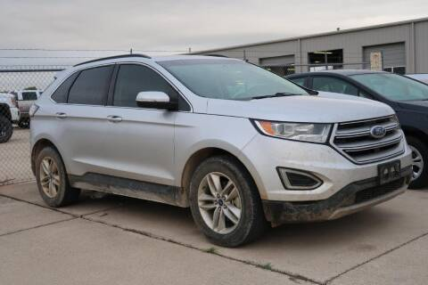 2017 Ford Edge for sale at Lipscomb Auto Center in Bowie TX