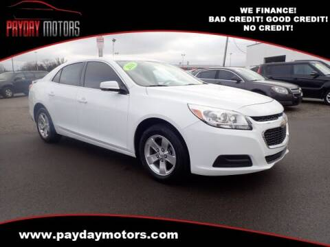2016 Chevrolet Malibu Limited for sale at Payday Motors in Wichita And Topeka KS