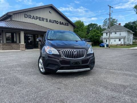 2015 Buick Encore for sale at Drapers Auto Sales in Peru IN