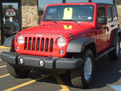 2018 Jeep Wrangler JK Unlimited for sale at Rogos Auto Sales in Brockway PA