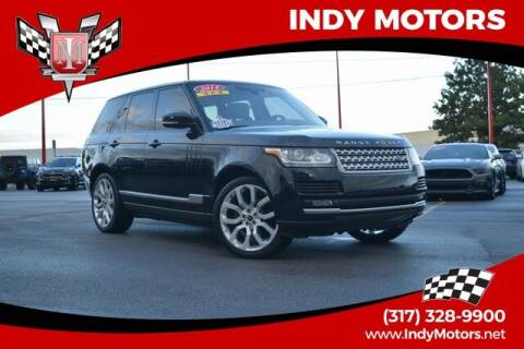 2014 Land Rover Range Rover for sale at Indy Motors Inc in Indianapolis IN