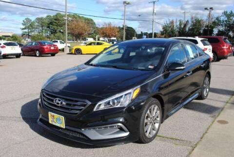 2016 Hyundai Sonata for sale at Shore Drive Auto World in Virginia Beach VA