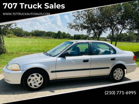 1997 Honda Civic for sale at 707 Truck Sales in San Antonio TX