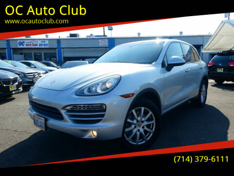 2012 Porsche Cayenne for sale at OC Auto Club in Midway City CA