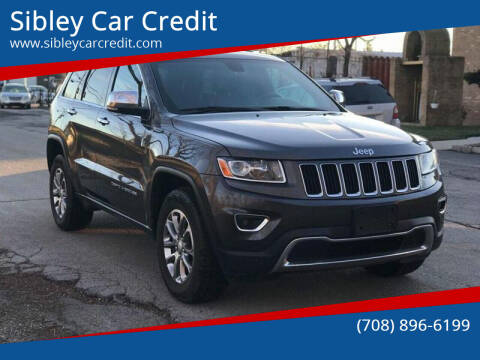 2014 Jeep Grand Cherokee for sale at Sibley Car Credit in Dolton IL