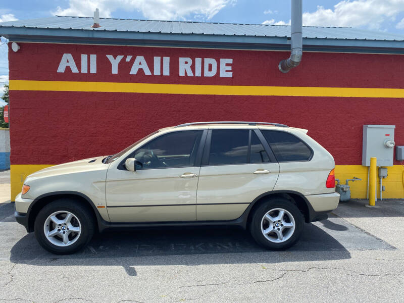 2003 BMW X5 for sale at Big Daddy's Auto in Winston-Salem NC