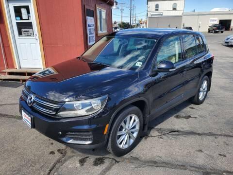 2014 Volkswagen Tiguan for sale at Curtis Auto Sales LLC in Orem UT