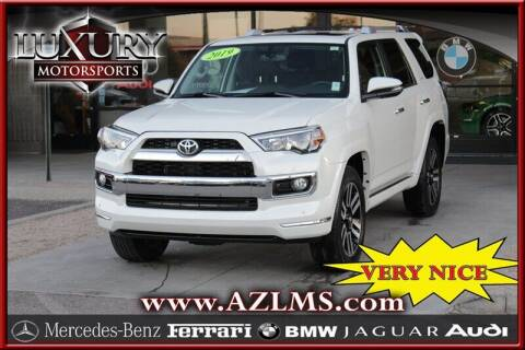 2019 Toyota 4Runner for sale at Luxury Motorsports in Phoenix AZ