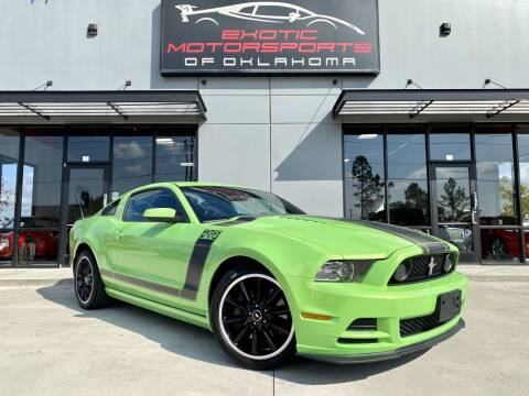 2013 Ford Mustang for sale at Exotic Motorsports of Oklahoma in Edmond OK
