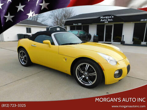 2009 Pontiac Solstice for sale at Morgan's Auto Inc in Paoli IN