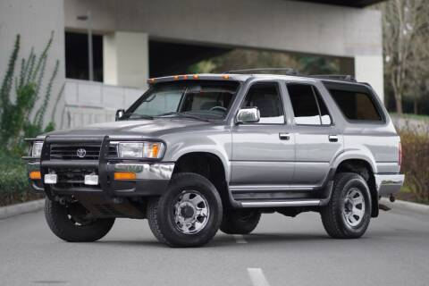 1993 Toyota 4Runner for sale at TOPLINE AUTO GROUP in Kent WA