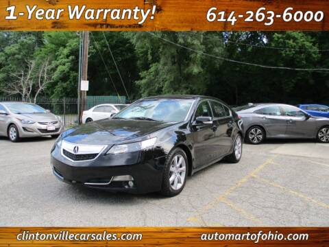 2013 Acura TL for sale at Clintonville Car Sales - AutoMart of Ohio in Columbus OH