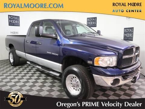 2003 Dodge Ram Pickup 2500 for sale at Royal Moore Custom Finance in Hillsboro OR