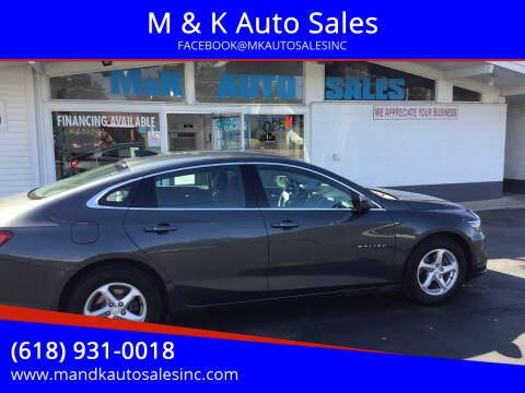 2017 Chevrolet Malibu for sale at M & K Auto Sales in Granite City IL