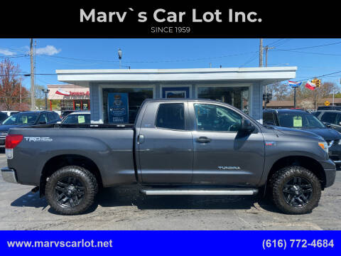2013 Toyota Tundra for sale at Marv`s Car Lot Inc. in Zeeland MI