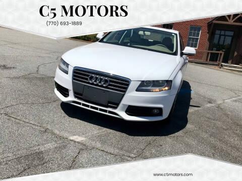2009 Audi A4 for sale at C5 Motors in Marietta GA