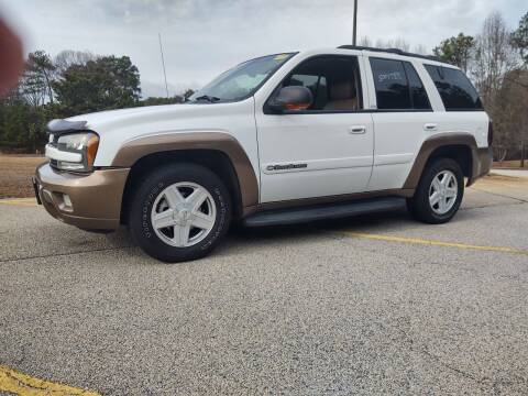 2002 Chevrolet TrailBlazer for sale at WIGGLES AUTO SALES INC in Mableton GA