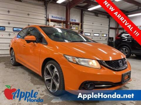 2015 Honda Civic for sale at APPLE HONDA in Riverhead NY