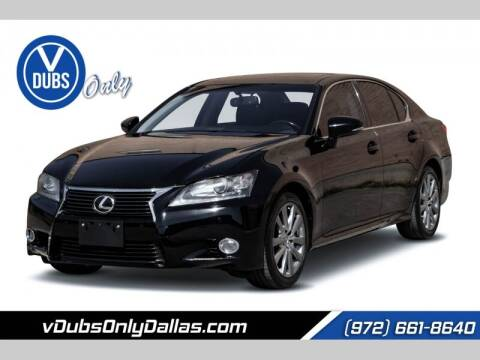 2013 Lexus GS 350 for sale at VDUBS ONLY in Dallas TX