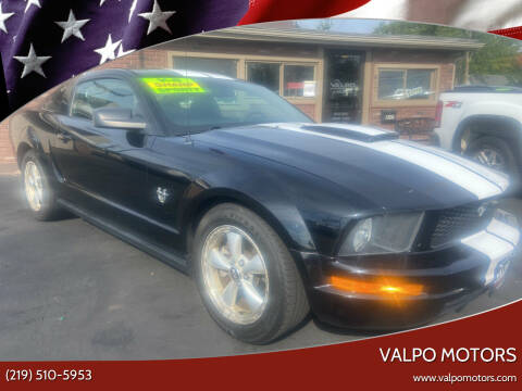2009 Ford Mustang for sale at Valpo Motors in Valparaiso IN