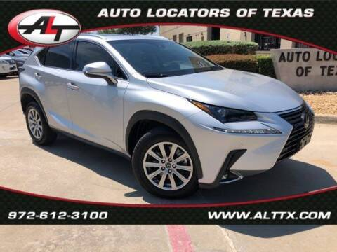 2018 Lexus NX 300 for sale at AUTO LOCATORS OF TEXAS in Plano TX