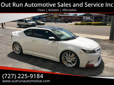 2013 Scion tC for sale at Out Run Automotive Sales and Service Inc in Tampa FL